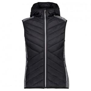 CMP Campagnolo Woman Vest Fix Hood Hybrid
