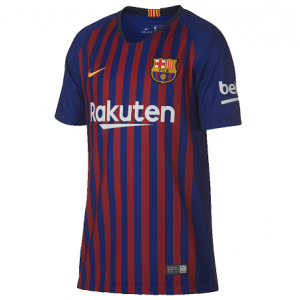 Nike Camiseta FC Barcelona Stadium Home 18 - 19 Jr
