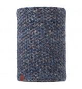 Buff Neckwarmer Knitted Polar Margo Blue