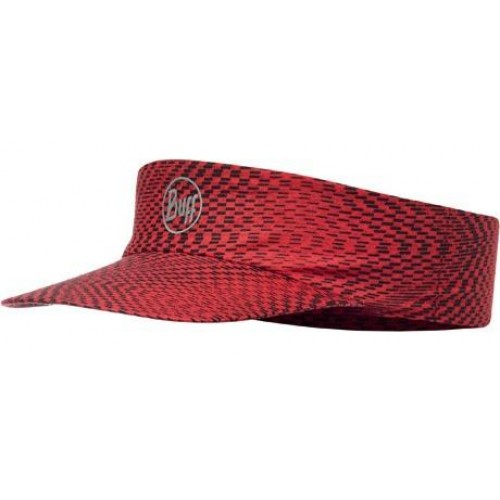 Buff Pack Run Visor R Jam Red