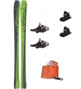 La Sportiva Esquís Stelvio 85 LS + Fijaciones Fritschi Xenic 10 + Pieles