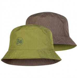 Buff Travel Bucket Hat Shady Khaky