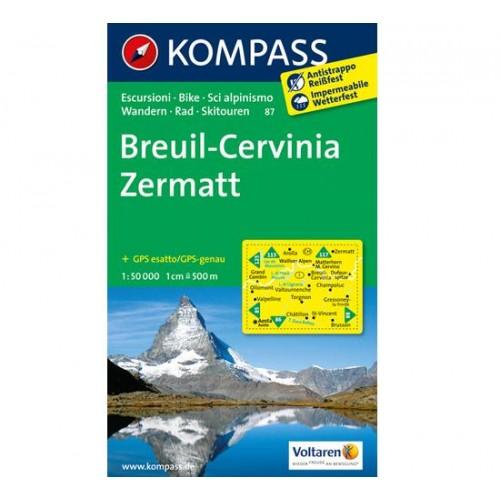 Kompass Breuil Cervinia Zermatt