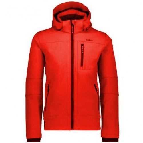 CMP Campagnolo Man Jacket Zip Hood Soft Shell