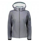 CMP Campagnolo Woman Jacket Zip Hood Soft Shell